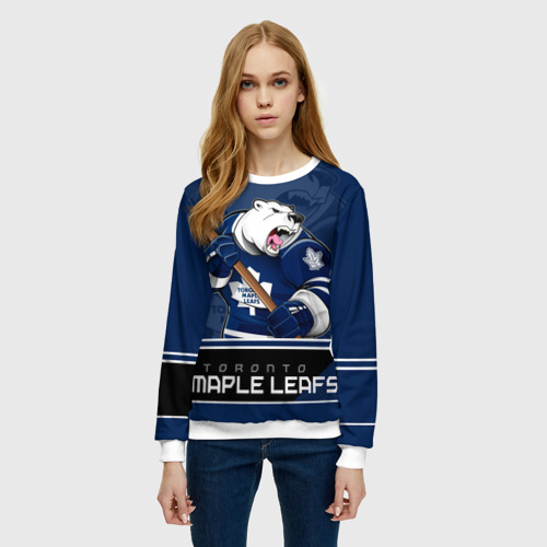 Женский свитшот 3D Toronto Maple Leafs Фото 01