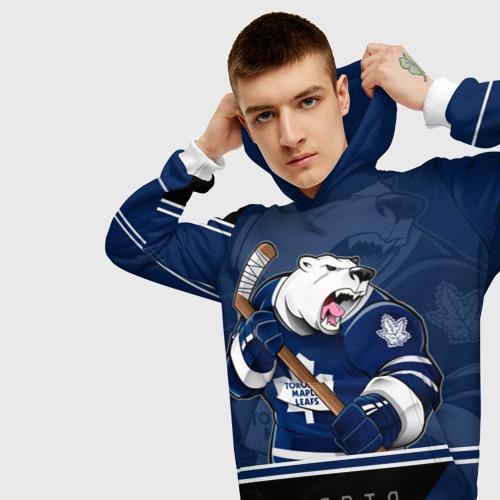 Мужская толстовка 3D Toronto Maple Leafs