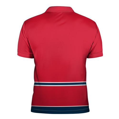 Мужская рубашка поло 3D  Фото 02, Columbus Blue Jackets