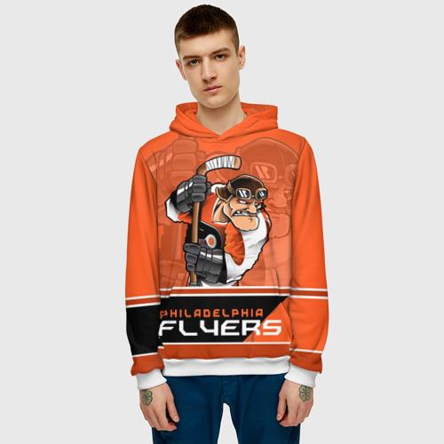 Мужская толстовка 3D  Фото 03, Philadelphia Flyers