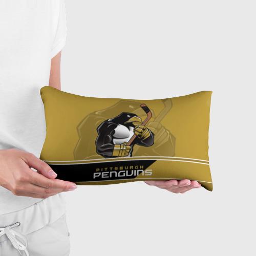 Подушка 3D антистресс  Фото 03, Pittsburgh Penguins
