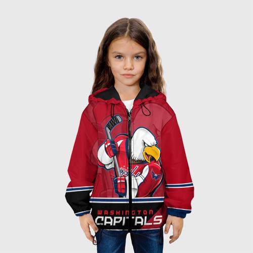 Детская куртка 3D Washington Capitals Фото 01