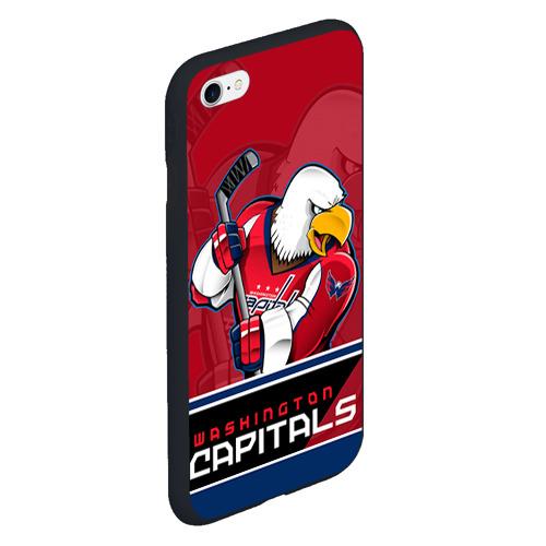Чехол для iPhone 6/6S матовый Washington Capitals Фото 01