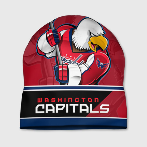 Шапка 3D Washington Capitals