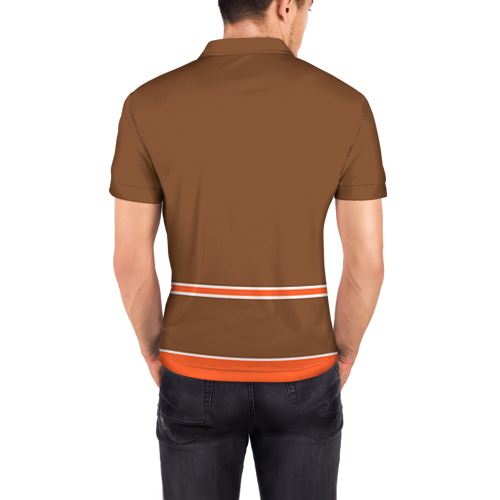 Мужская рубашка поло 3D  Фото 04, Anaheim Ducks