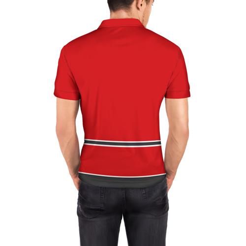Мужская рубашка поло 3D  Фото 04, Chicago Blackhawks