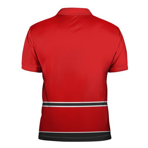 Мужская рубашка поло 3D  Фото 02, Chicago Blackhawks