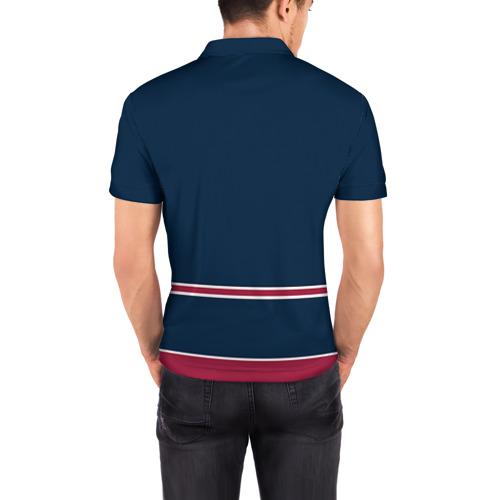 Мужская рубашка поло 3D  Фото 04, Colorado Avalanche