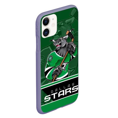 Чехол для iPhone 11 матовый Dallas Stars Фото 01