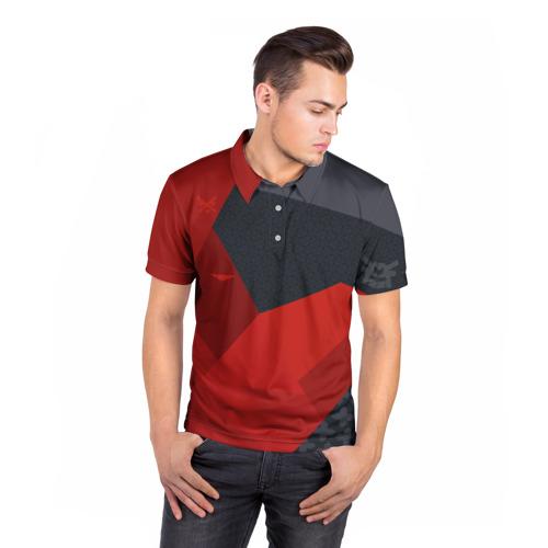 Мужская рубашка поло 3D  Фото 05, cs:go - Evil Daimyo style (Злобный Дайме)