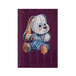 Акварельная плюшевая собачка