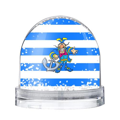 Водяной шар со снегом Капитан Баклан