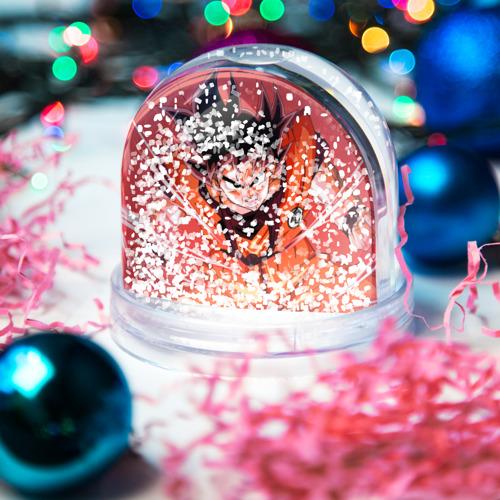 Водяной шар со снегом  Фото 04, Orange