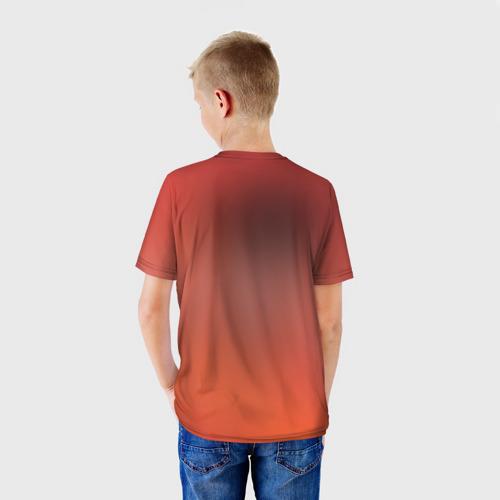 Детская футболка 3D  Фото 02, Orange