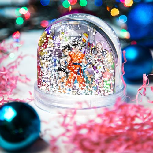 Водяной шар со снегом  Фото 04, Dragon Ball
