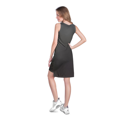 Платье-майка 3D  Фото 04, Black