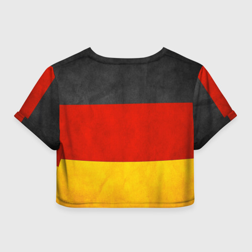 Женская футболка 3D укороченная  Фото 02, German Domestic Market