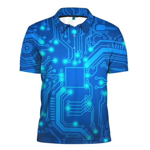 Мужская рубашка поло 3D  Фото 01, Электроника