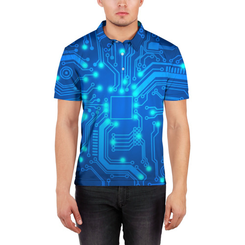 Мужская рубашка поло 3D  Фото 03, Электроника