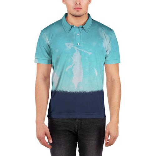 Мужская рубашка поло 3D  Фото 03, Snowing