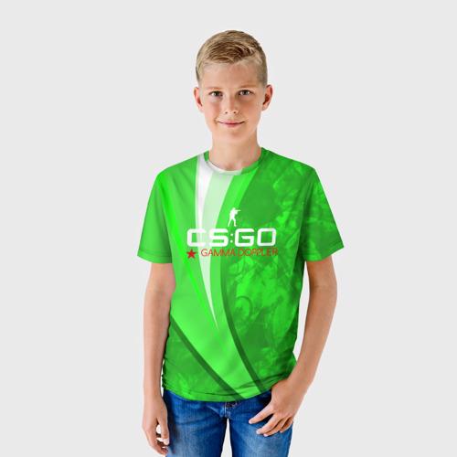 Детская футболка 3D cs:go - Gamma Doppler Style