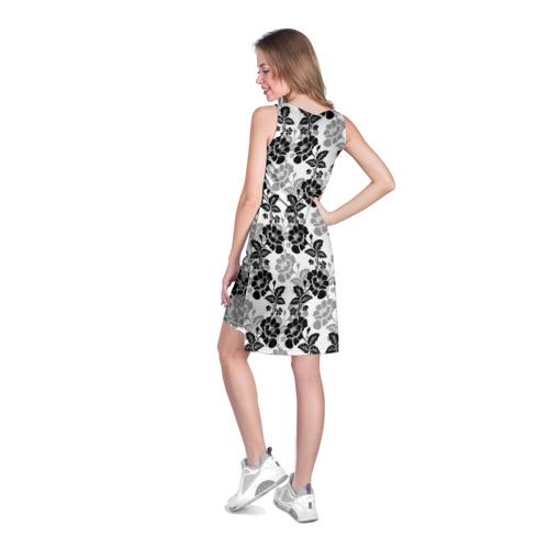 Платье-майка 3D  Фото 04, Цветы