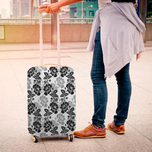 Чехол для чемодана 3D  Фото 04, Цветы