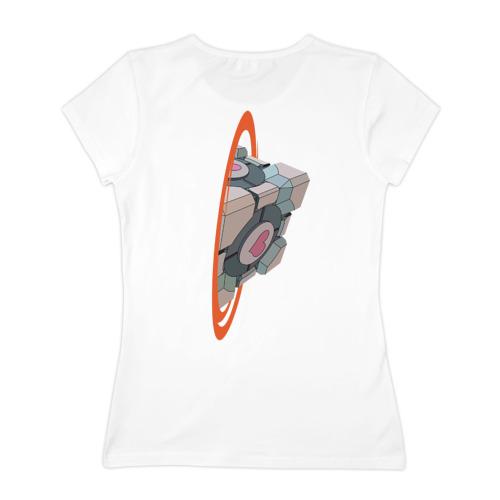 Женская футболка хлопок  Фото 02, Портал