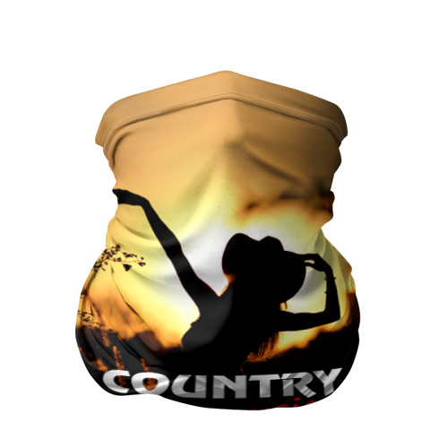 Бандана-труба 3D  Фото 01, Country music