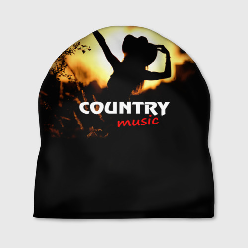 Шапка 3D  Фото 01, Country music