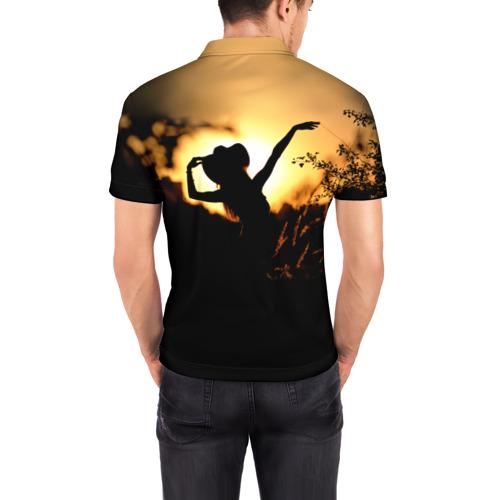 Мужская рубашка поло 3D  Фото 04, Country music