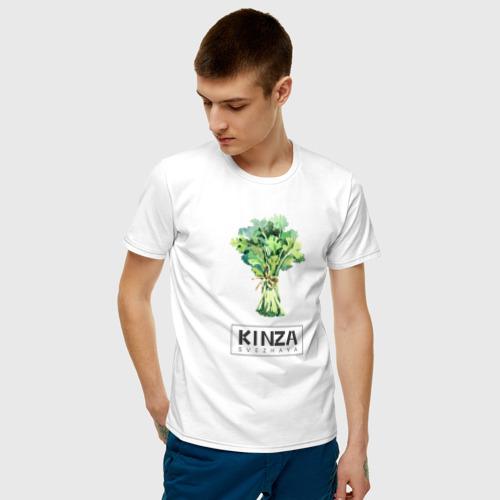 Мужская футболка хлопок KINZA Фото 01