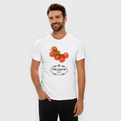Мужская футболка премиум  Фото 03, PRADAM