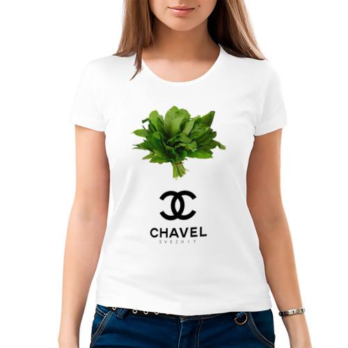 Женская футболка хлопок CHAVEL