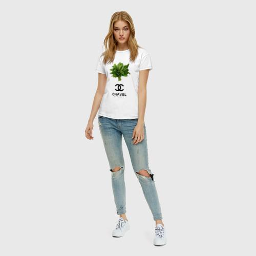 Женская футболка хлопок CHAVEL Фото 01