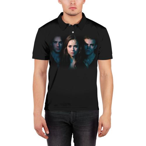 Мужская рубашка поло 3D  Фото 03, Дневники вампира 8