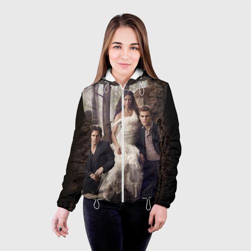 Женская куртка 3D  Фото 03, Дневники вампира 9