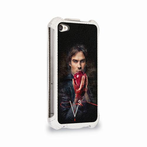 Чехол для Apple iPhone 4/4S flip  Фото 02, Дневники вампира 12