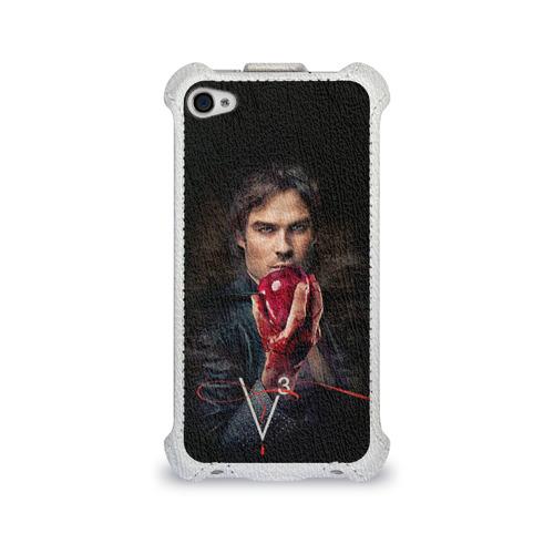Чехол для Apple iPhone 4/4S flip  Фото 01, Дневники вампира 12