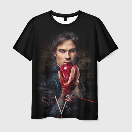Мужская футболка 3D  Фото 01, Дневники вампира 12