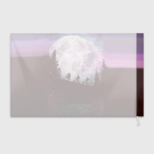 Флаг 3D Очень странные дела 3 Фото 01