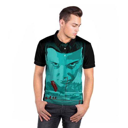 Мужская рубашка поло 3D  Фото 05, Очень странные дела 4