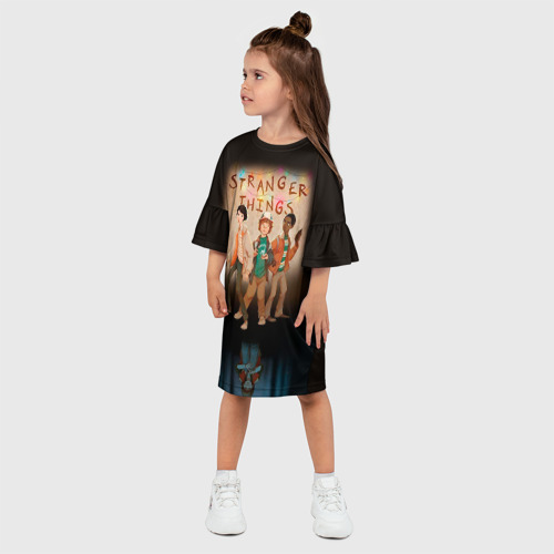 Детское платье 3D  Фото 03, Очень странные дела 5