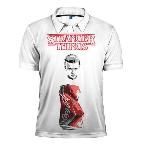 Мужская рубашка поло 3D  Фото 01, Очень странные дела 7
