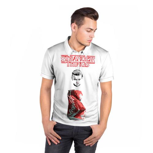 Мужская рубашка поло 3D  Фото 05, Очень странные дела 7