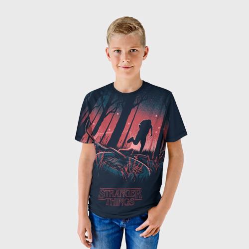 Детская футболка 3D  Фото 01, Очень странные дела 11