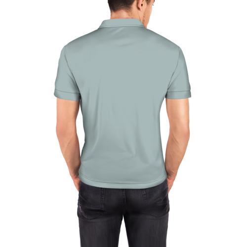 Мужская рубашка поло 3D  Фото 04, Не всякий может быть дедом.