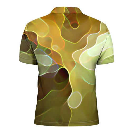 Мужская рубашка поло 3D  Фото 02, Злые грибы