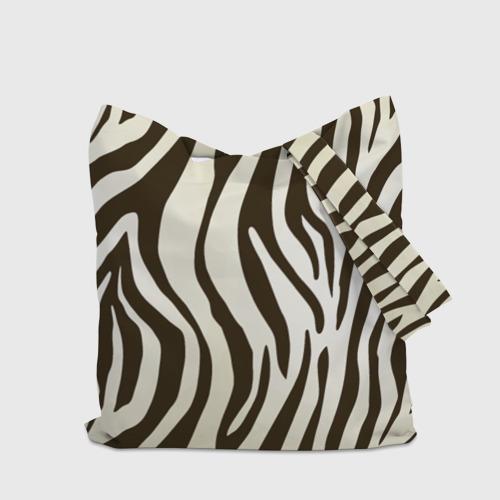 Сумка 3D повседневная Шкура зебры Фото 01