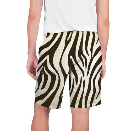 Мужские шорты 3D Шкура зебры Фото 01